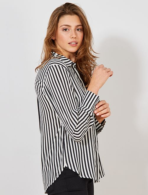 blusa feminina kiabi listrada m camiseta camisa super promoção