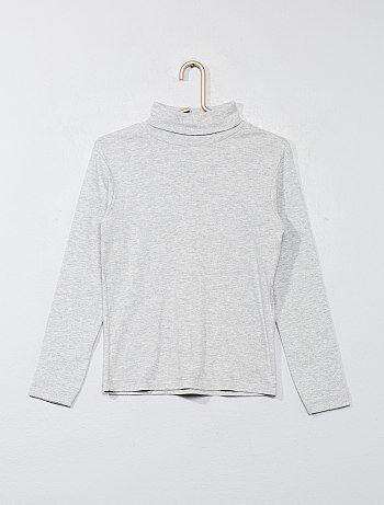 0e526a38d6 Modelos de camisola gola alta de meninos até 12 anos Menino 3-12 ...