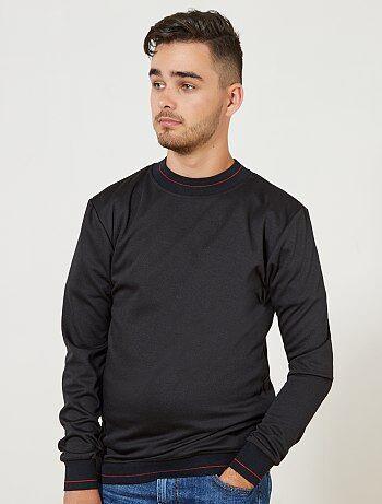 Camisola de malha fina espírito sweatshirt 'A&K Classics' - Kiabi