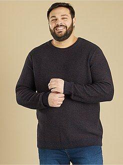 Camisola, casaco - Camisola de malha mesclada - Kiabi