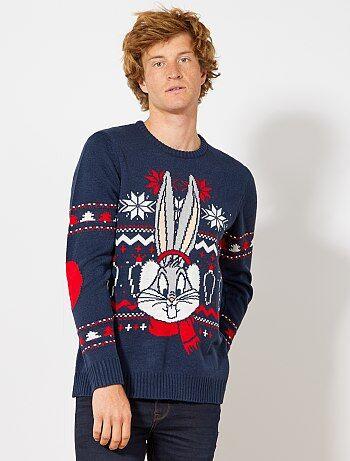 Camisola de Natal 'Bugs Bunny' - Kiabi