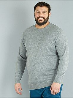 Camisola, casaco tamanho 4xl - Camisola leve de malha fina - Kiabi