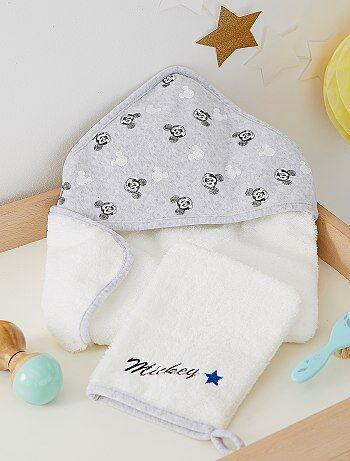Capa de banho e luva 'Mickey' - Kiabi