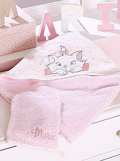 Capa de banho + luva em felpa 'Maria' - Kiabi