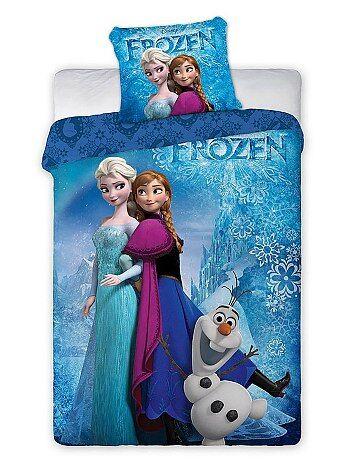 Capa de edredão + fronha 'Frozen' - Kiabi