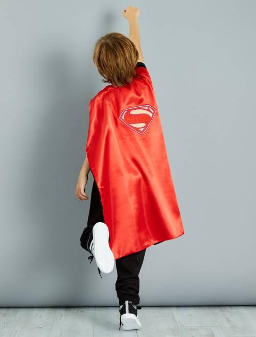 Capa reversível 2 em 1 'Batman' e 'Superman'                             rouge/noir Criança