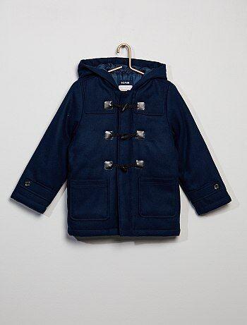 Casaco 'duffle-coat' com capuz - Kiabi
