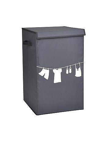 Cesto da roupa em tecido estampado - Kiabi