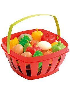 Brinquedos - Cesto de frutas e legumes - Kiabi