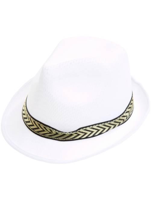 Chapéu borsalino                                             Branco