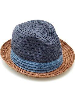 Acessórios - Chapéu borsalino tricolor