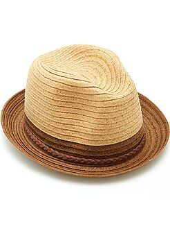 Chapéu borsalino tricolor