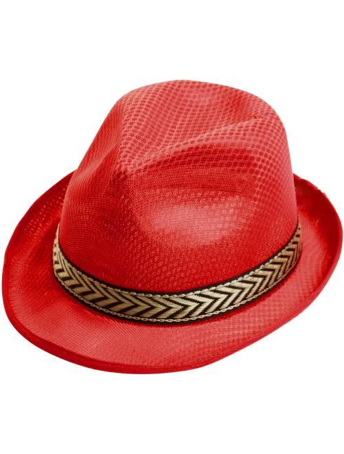 Chapéu borsalino                                                     Vermelho