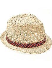 Chapéu com forma borsalino