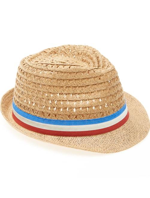 Chapéu de palha Menino 3-12 anos