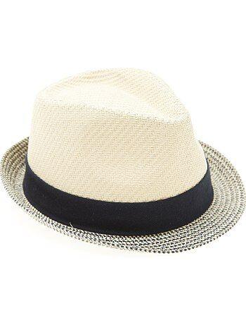 Menino 10-18 anos - Chapéu de palha tipo panamá - Kiabi
