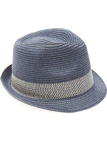 Menino 3-12 anos - Chapéu em forma borsalino - Kiabi