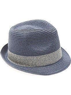 Chapéu em forma borsalino - Kiabi