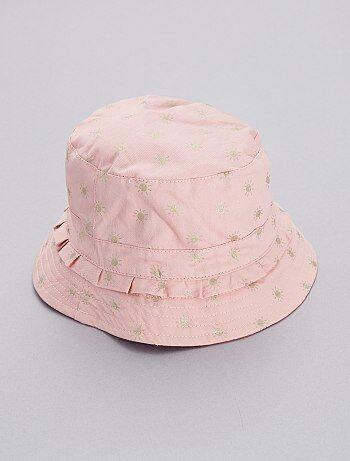 22f8b978829f2 Menina 3-12 anos - Chapéu reversível - Kiabi
