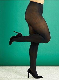 Collants leves 80D tamanho grande - Kiabi