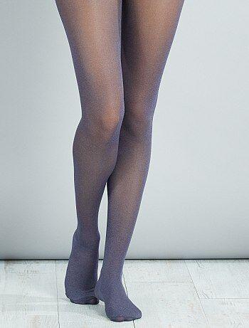 Collants lisos matizados - Kiabi