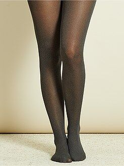 Collants, meias - Collants lisos matizados - Kiabi