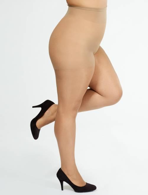 Collants 'Sanpellegrino' Comodo Curvy + sizes 20D                                         beige