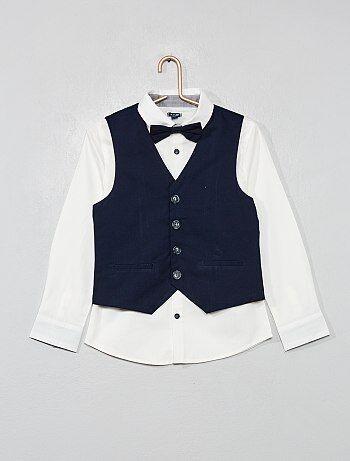Camisas brancas e de cerimónia Roupas de menino  61c5eb3aa6a