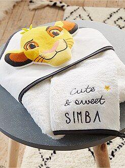Conjunto capa de banho e luva a condizer 'O Rei Leão - Kiabi