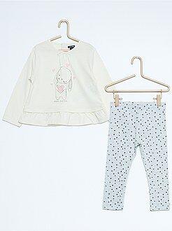 Conjunto, macacão - Conjunto de 2 peças túnica + leggings