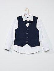 Camisas brancas e de cerimónia Menino 3 12 anos | Kiabi