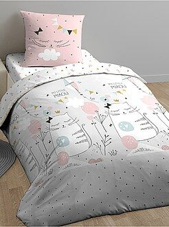 Conjunto de cama 'My Little Miaou' - Kiabi