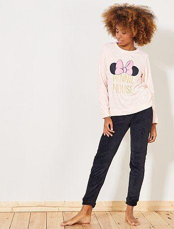 Conjunto de pijama comprido 'Disney' 'Minnie Mouse' - Kiabi