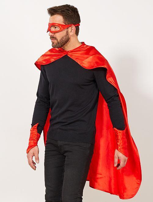 Conjunto de super heróis                                         Vermelho