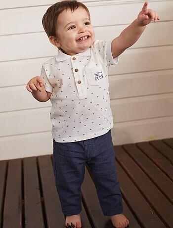 b3ee3d412 Conjuntos e macacões para os miúdos muito giros Roupas de bebé