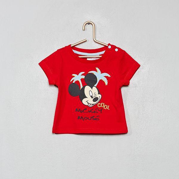 Macacão vermelho Minnie 6M