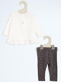 Conjunto, body - Conjunto túnica + leggings