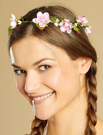 Mulher - Coroa de flores - Kiabi
