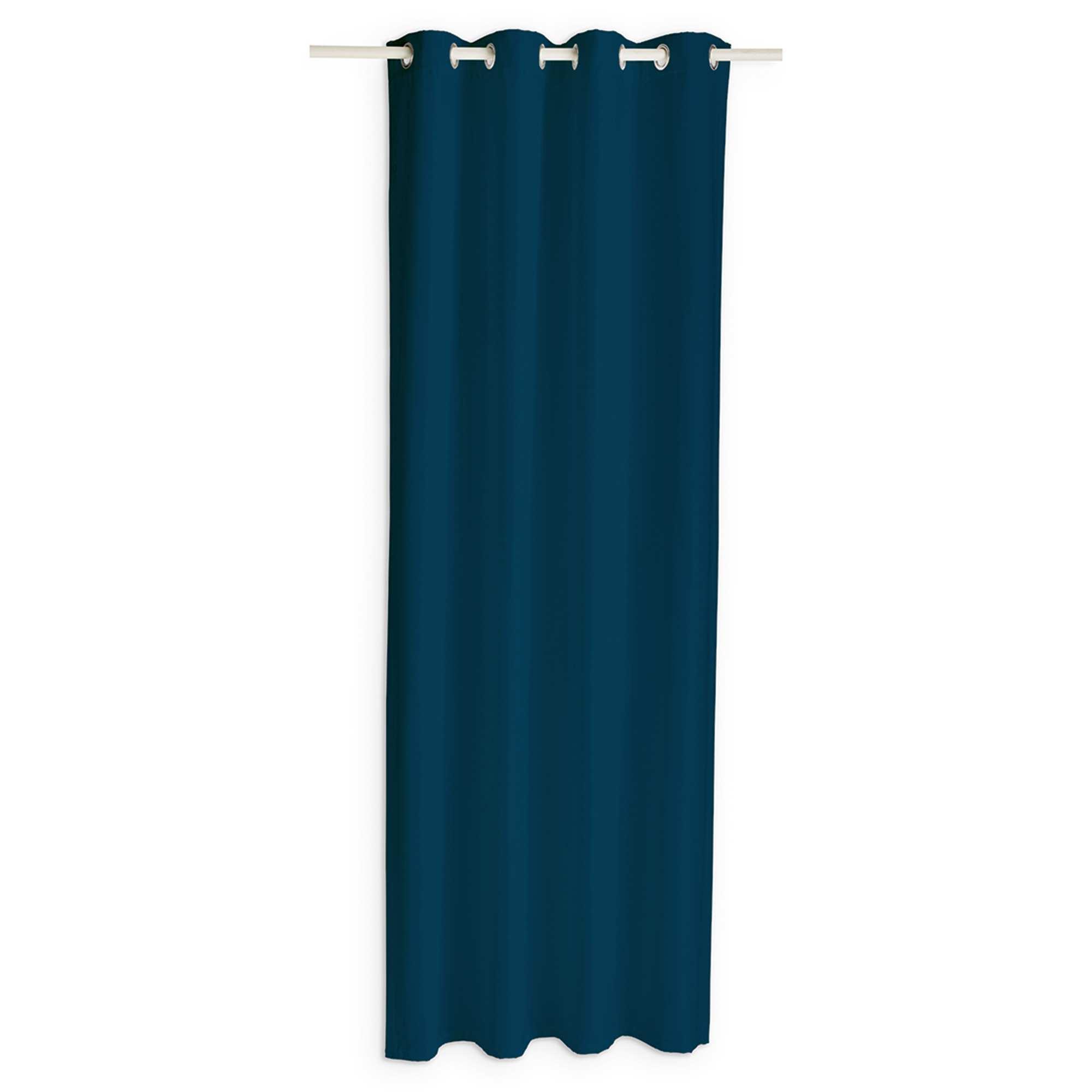 Cortina Ocultante Casa Azul Marinho Kiabi 19 99