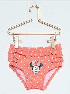 Fato de banho, praia - Cuecas de fato de banho às pintas 'Minnie'