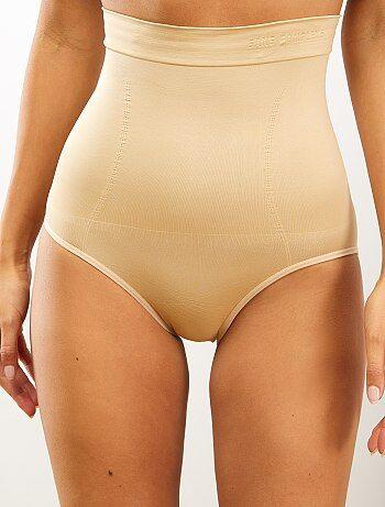 Cuecas para mulher de cintura subida adelgaçantes 'Sans Complexe' - Kiabi