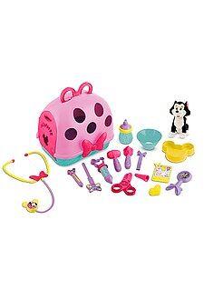 Brinquedos - Estojo conjunto de veterinário 'Minnie'