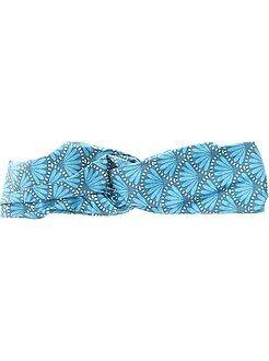 Acessórios - Faixa em tecido estampado espírito wax - Kiabi