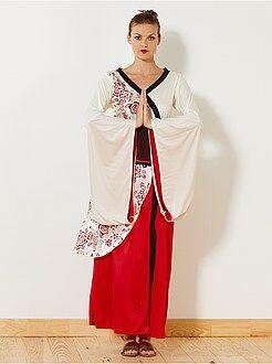 Roupa fantasia mulher - Fato de geisha - Kiabi