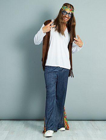 Homem - Fato de hippie - Kiabi
