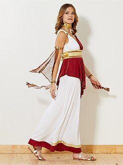 Roupa fantasia mulher - Fato de imperatriz romana - Kiabi