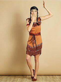 Roupa fantasia mulher - Fato de índia - Kiabi