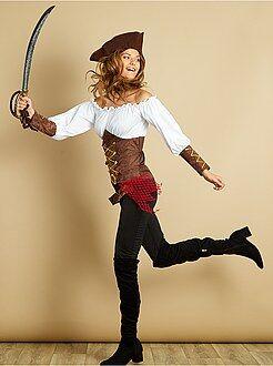 Roupa fantasia mulher - Fato de pirata