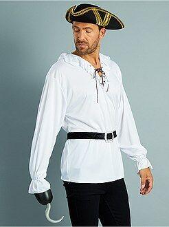 Fato de pirata com camisa + cinto - Kiabi