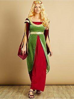 Fato de princesa medieval